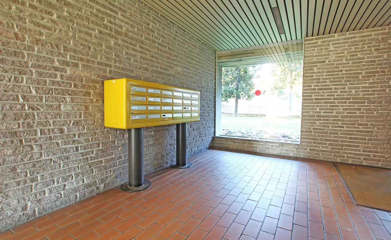 Trilocale ristrutturato con terrazzo e box